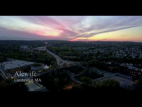 Cambridge, MA 4K Drone Footage - May 2017