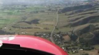 Bantam microlight flight
