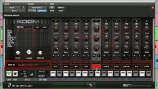 Boom: Program Your Own Drum Machine Patterns - Virtual Instrument for Pro Tools