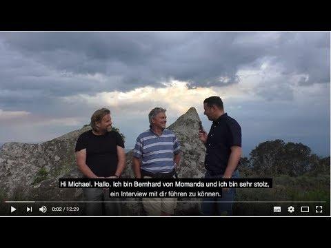 Interview Michael Tellinger und Tom Mögele beim Adams Kalend