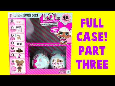MEGA LOL Doll Case Unboxing! Part THREE! 7 Layers of Surprises!