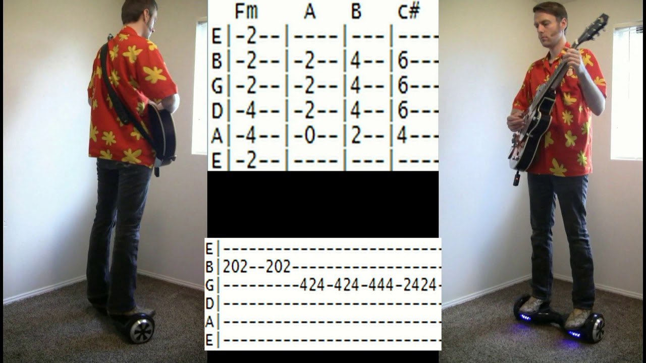 Tab For You Spin Me Round Guitar Chords By Dead Or Alive On A
