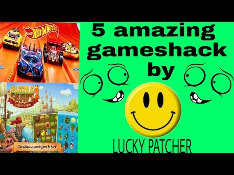 5 amazing games hack by lucky patcher