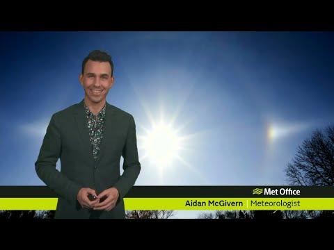 Friday evening forecast 22/02/19