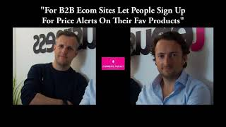 For B2B Ecom Sites Let People …