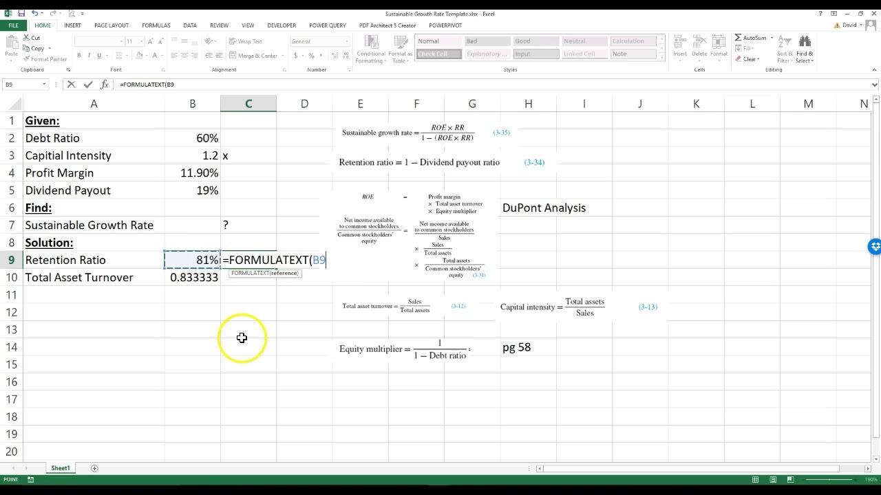 Groß Dupont Analyse Excel Vorlage Ideen - Beispiel Business ...