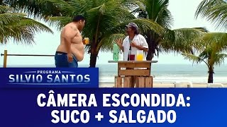 Suco + salgado   Câmera Escondida (19/03/17)
