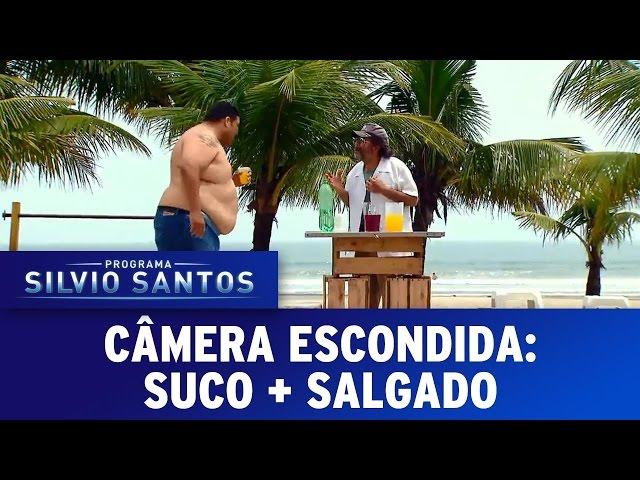 Suco + salgado | Câmera Escondida (19/03/17)