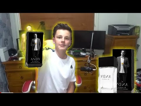 Andy By Hamish Fragrance Unboxing