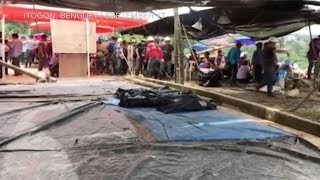 Rescuers recover bodies from Itogon, Benguet landslide