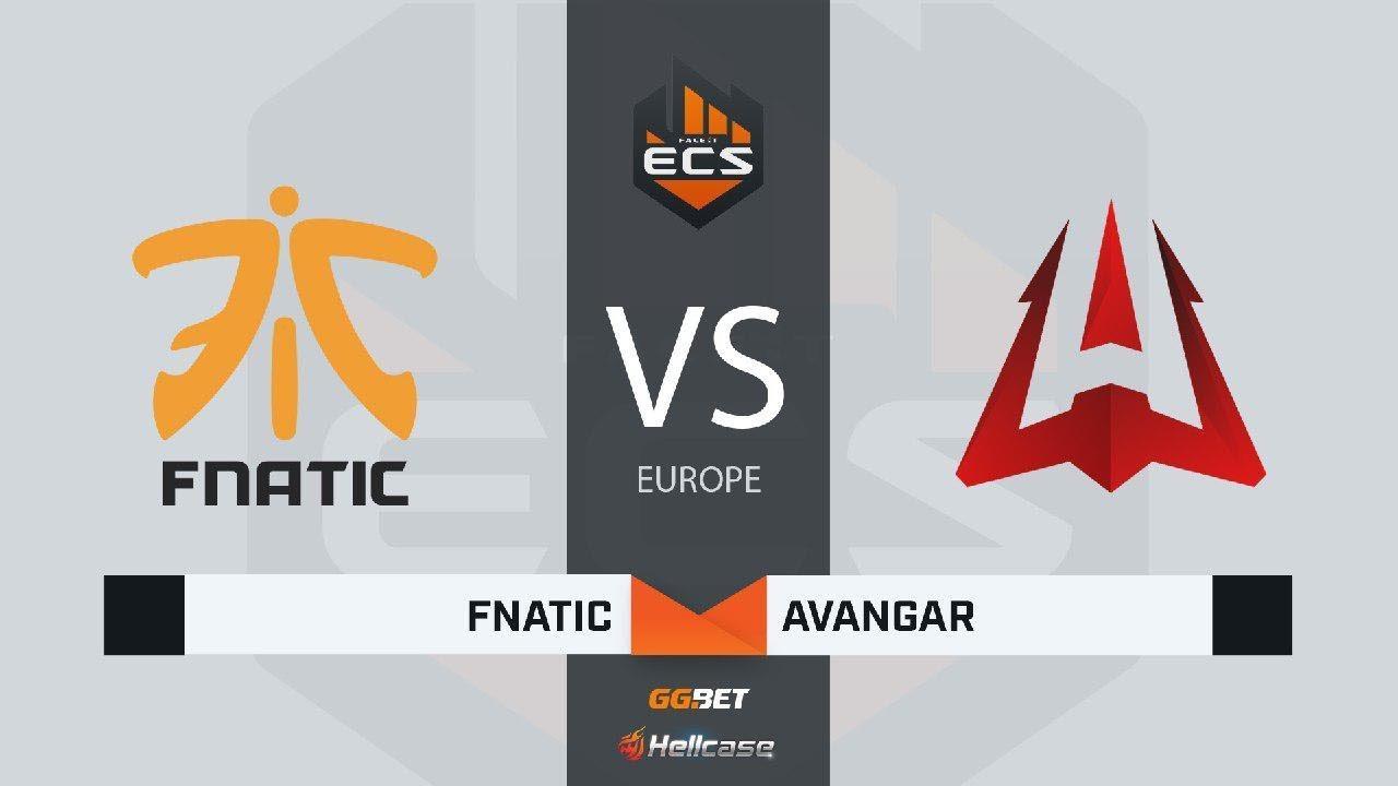 [RU] fnatic vs AVANGAR | Map 3 – Train | ECS Season 7 Europe