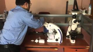 Installation of Carl Zeiss Primostar Binocular Microscope