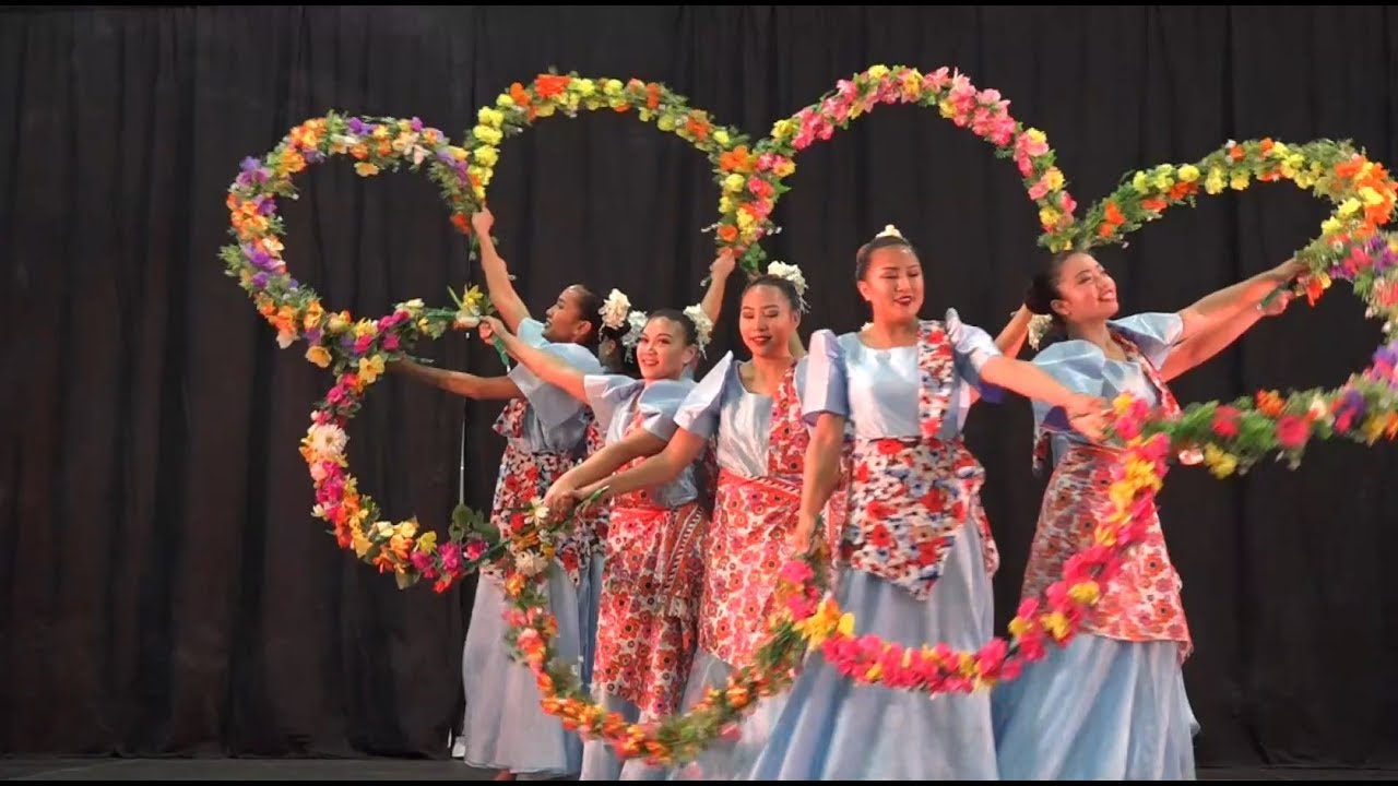 Bulaklakan/Dance of Floral Garlands- Philippine Traditional  Cultural/Rural/Folk Dance/Carassauga2017
