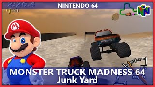 Monster Truck Madness 64 - Junk Yard (Nintendo 64)