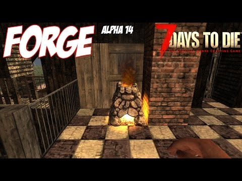 7 Days to Die Forge Tutorial - Forge Basics and Guide