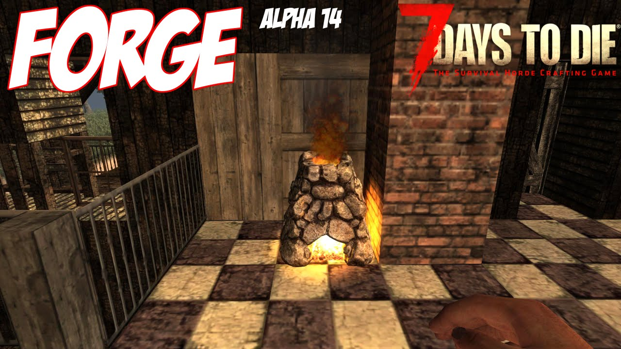 how to make a forge in 7 days to die