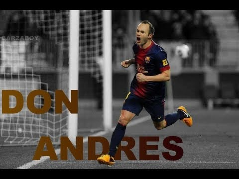Andres Iniesta - The Hero of Barcelona