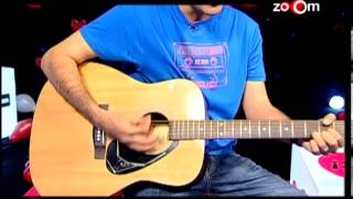 Romantic Hindi song played on guitar by a lover