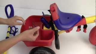 Smart trike Little Tikes Велосипед 3 в 1 Видео инструкция по сборке(Данный товар, Вы можете приобрести в интернет магазине http://www.mam-pap.ru/, 2011-04-26T21:48:05.000Z)