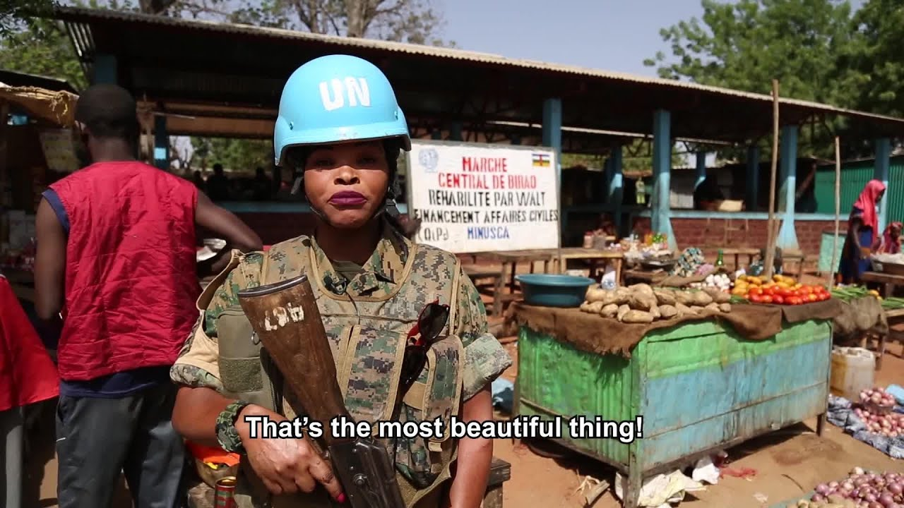 Service And Sacrifice Peacekeepers From Zambia Youtube