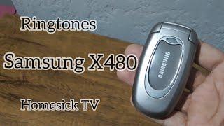 ALL Samsung X480 Ringtones Nostalgic Old phones | 14Dannyel