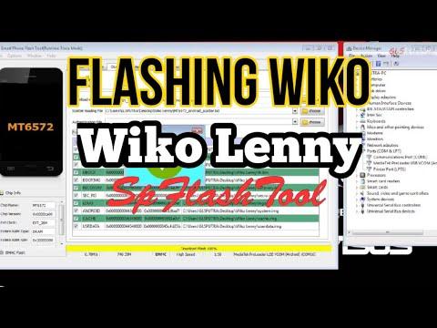 FLASH WIKO LENNY MT6572 SPFlashTool