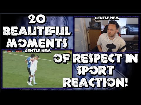 20 BEAUTIFUL MOMENTS OF RESPECT IN SPORT | REACTION Gods Lounge
