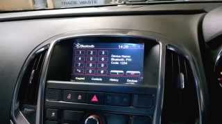 Astra J GPS Navigation DVD Media System
