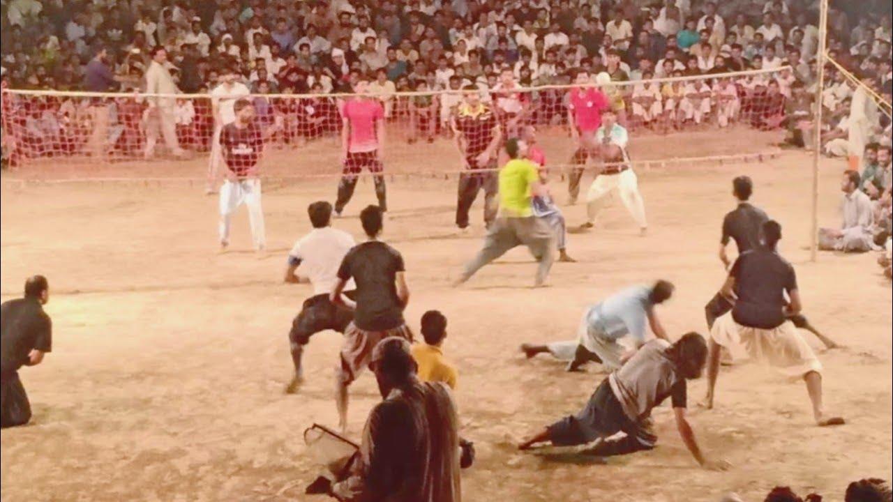 Amir Sara & Shani Loona, Tahir Loona Vs Faisal Bhatti & Suleman Cheema Volleyball Match 11-9-2020