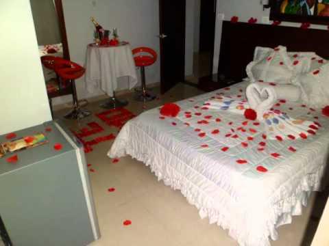 Hotel rio grande barrancabermeja plan luna de miel youtube for Decorar habitacion hotel