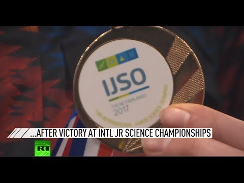 Download Youtube: Brightest minds of Russia return home after victory at junior science championships
