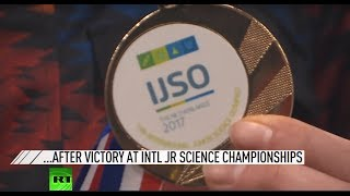 Brightest minds of Russia return home after victory at junior science championships