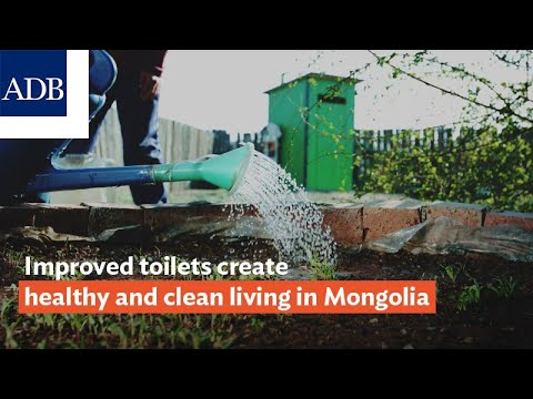 Improved Toilets Create Healthy and Clean Living in Mongolia