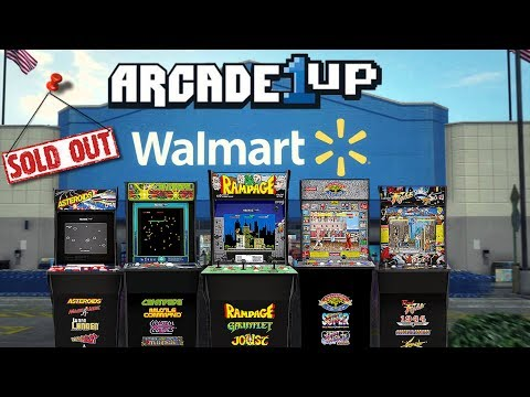 Arcade1Up Arcade Cabinets SOLD OUT At Walmart! - YouTube