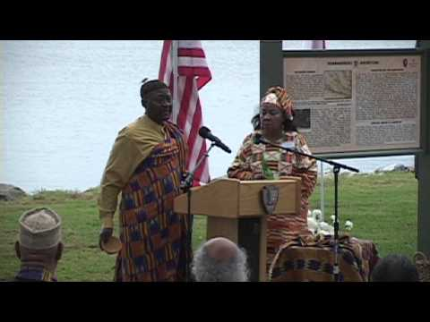 Jamestown Middle Passage Marker Dedication