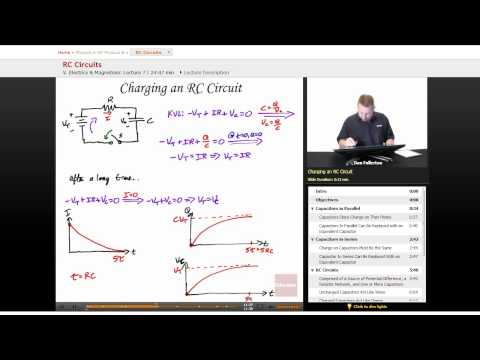 """RC Circuits"" | AP Physics B with Educator.com"