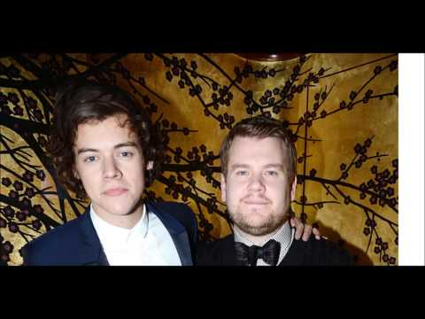 Thumbnail: Harry Styles and James Corden - just work or real friendship?