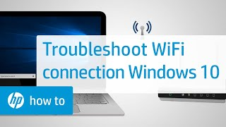 How To Troubleshoot a Wireless Internet Connection in Windows 10 | HP Computers | HP
