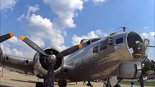 B-17 Bomber Madras Maiden Flying Fortress