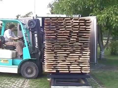 Außergewöhnlich Wood-Mizer Trockenkammersystem für Schnitt- und Brennholz #NC_35