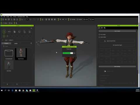 iClone 6.5 Tutorial - Character Creator to Sketchfab