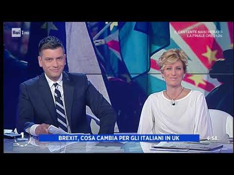 Brexit, cosa cambia da domani – Unomattina 31/01/2020