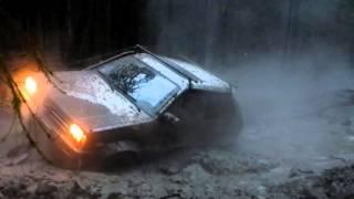 Нормальная ЛУЖА 4 Subaru Justy Лесоход Drive2