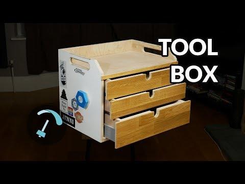 Building a toolbox from reclaimed materials - BANDARRA