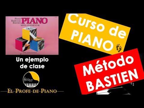 Metodo bastien piano elemental - Ejemplo de clase de piano