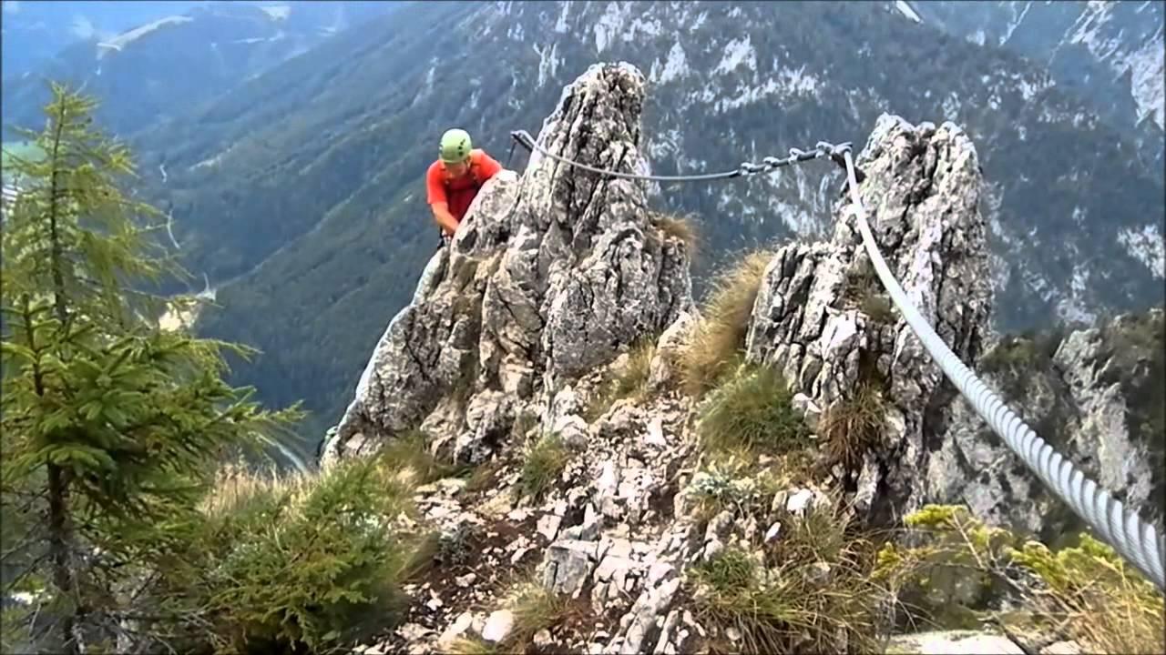 Franz Josef Klettersteig : Kaiser franz joseph klettersteig 2. rész.wmv youtube