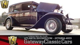 1929 Buick Sedan - Gateway Classic Cars of Atlanta #140