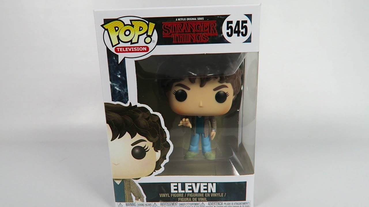 545 NEW! Stranger Things: Eleven Funko POP