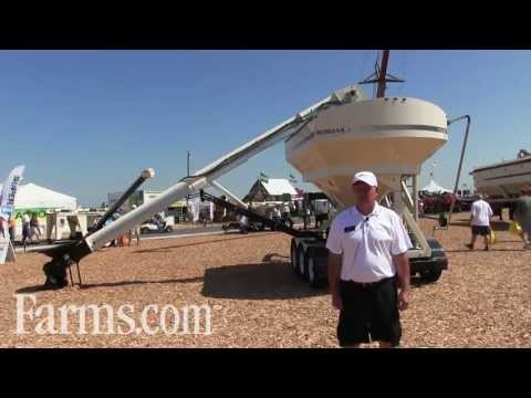 New Meridian Manufacturing's Bulk Seed Tenders Introduced At Farm Progress Show.