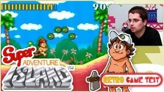 """Super Adventure Island """"Super Nintendo"""" Retro Game Test - REVIEW fr vf"""